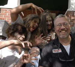 "First day of filming, ""Brunch of the Living Dead,"" April 2008."